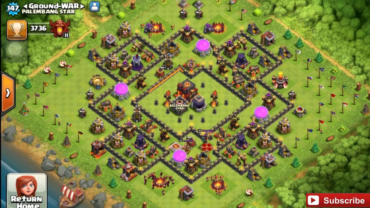 Base Coc Th 10 Farming Terkuat 8