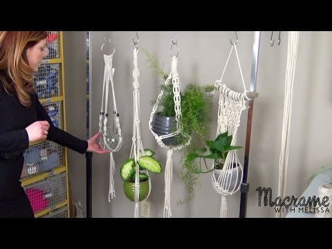 1 Of 4 Macrame Plant Hanger For Beginners Diy Tutorial