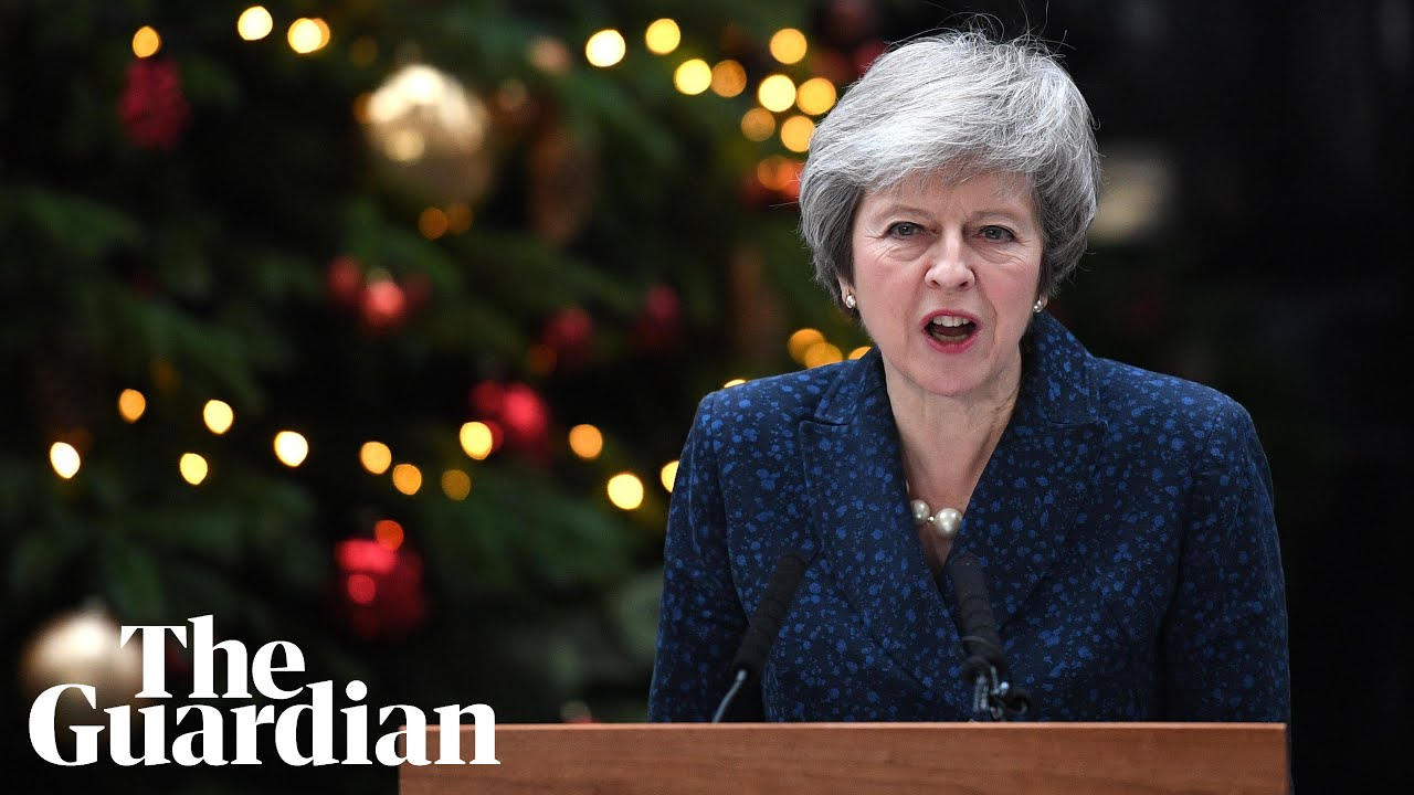 Theresa May: 'I will contest confidence vote with everything I've got'