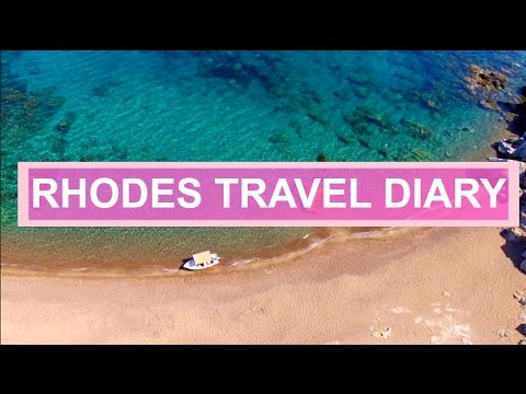 RHODES TRAVEL DIARY