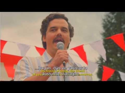 Pablo Escobar seçim konuşması...tanıdık gelecek.