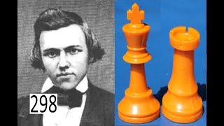 Paul Morphy checkmates by Castling!