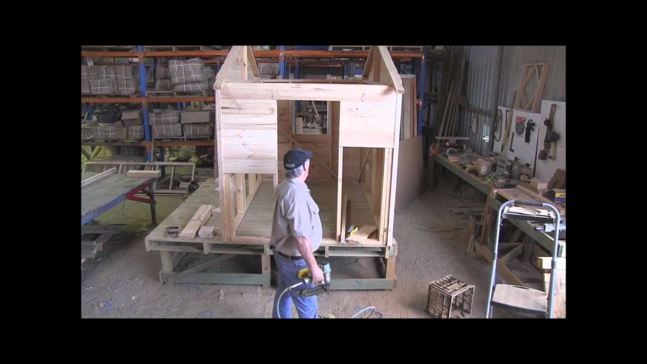 How To Build A Cubby House Cladding Pt 2 Youtube