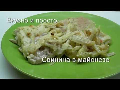 Вторые блюда простые рецепты с фото