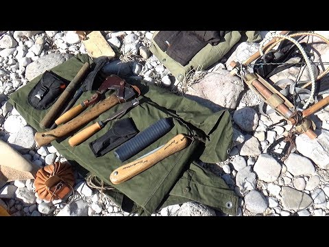 Bushcraft With Tools Instead Of Gear