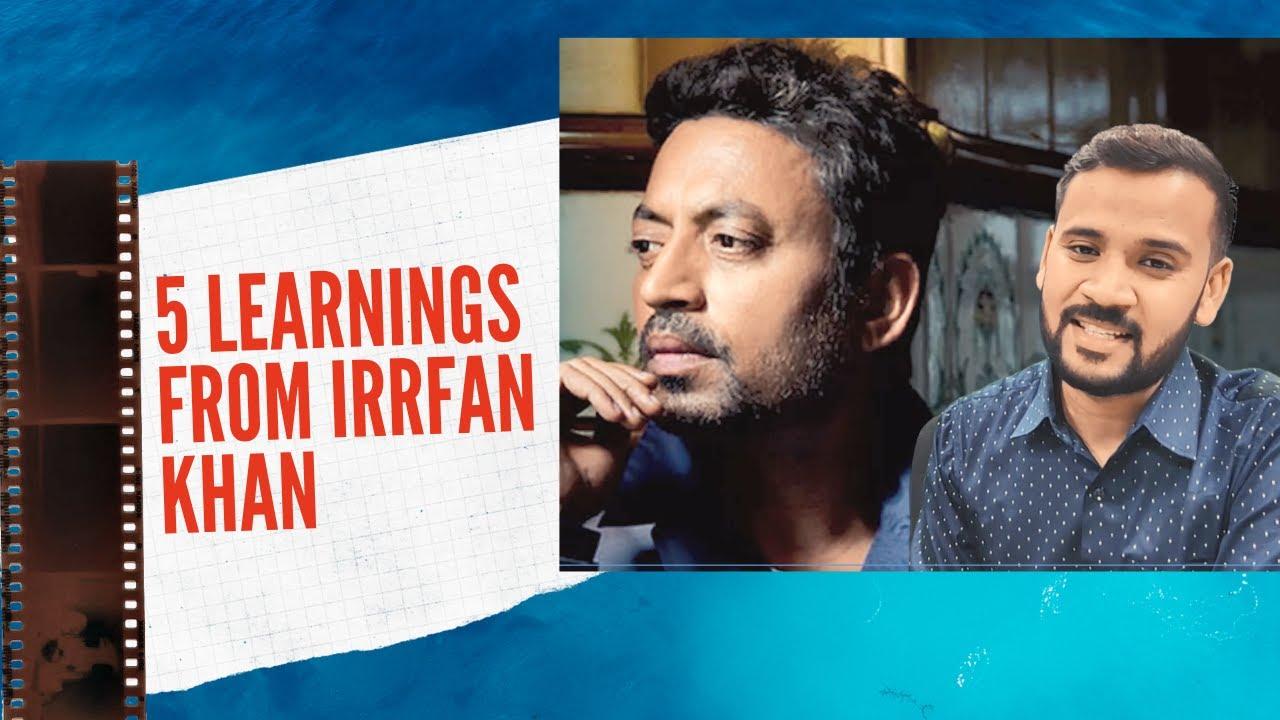 Motivational Video | 5 बातें जो इरफ़ान ख़ान से सीखें | Tribute to Irrfan Khan | Rj Kartik | Irfan Khan