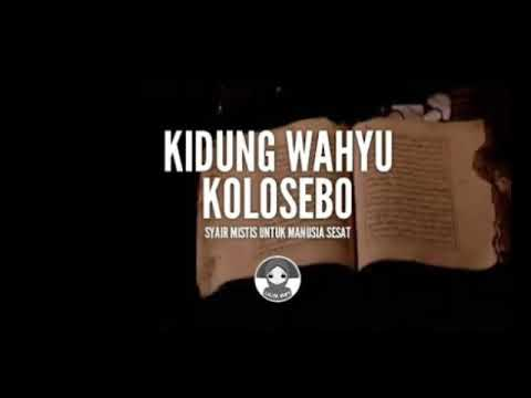 Makna Kidung Wahyu Kolosebo
