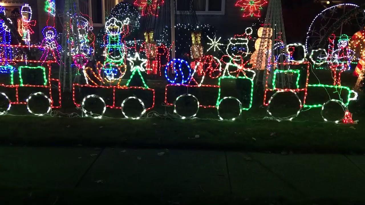 Christmas Done Bright.Christmas Done Bright Train Reverse Wheels