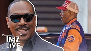 Eddie Murphy Shoots Scenes for 'Coming to America 2' | TMZ Live