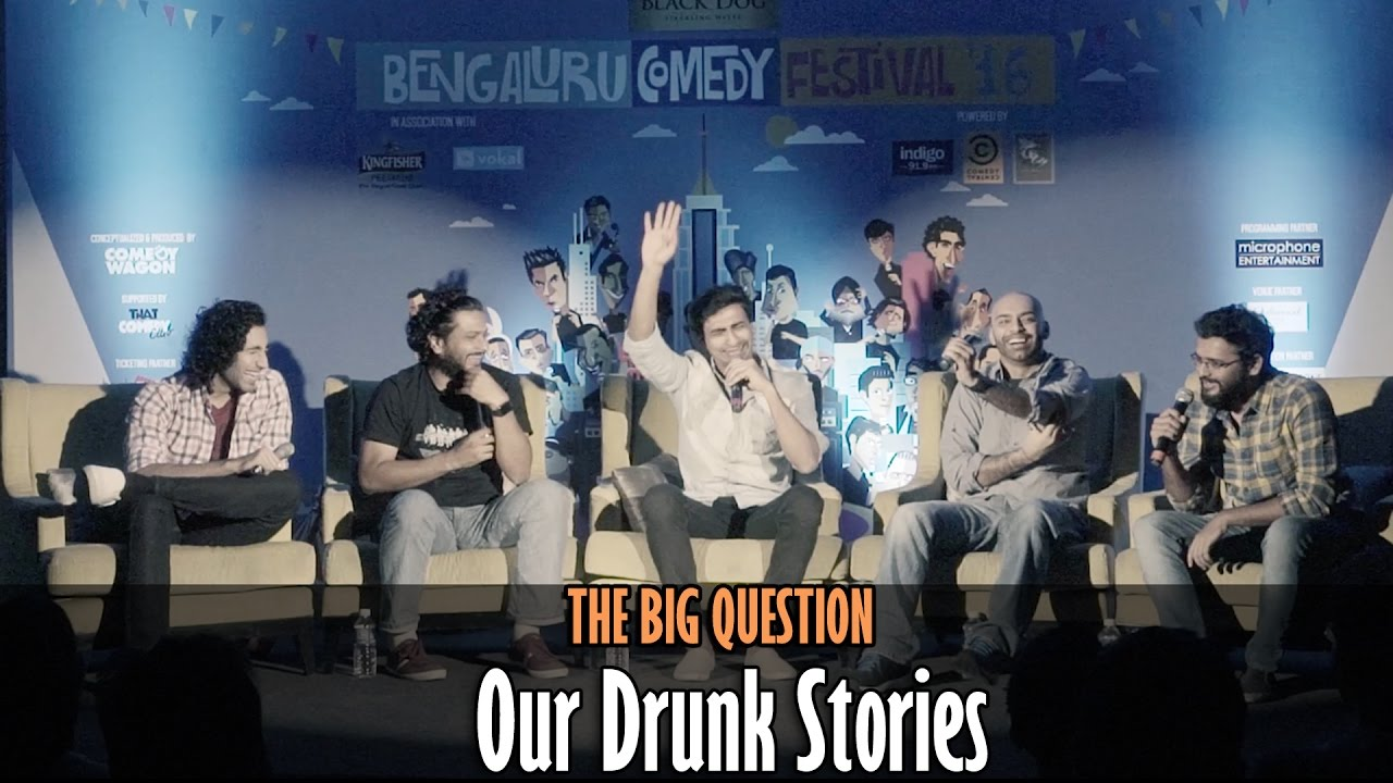 SnG: Our Drunk Stories | The Big Question Episode 32 | Video Podcast