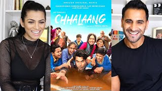 CHHALAANG Official Trailer REACTION / REVIEW! | Rajkummar Rao, Nushrratt Bharuccha | Hansal Mehta