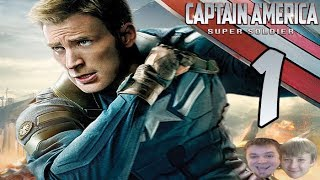 CAPTAIN AMERICA INVENTED THE DAB!?!? | Captain America Video Game - PART 1 - Super Soldier