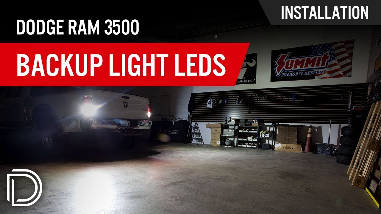 hight resolution of how to install dodge ram 3500 reverse light leds