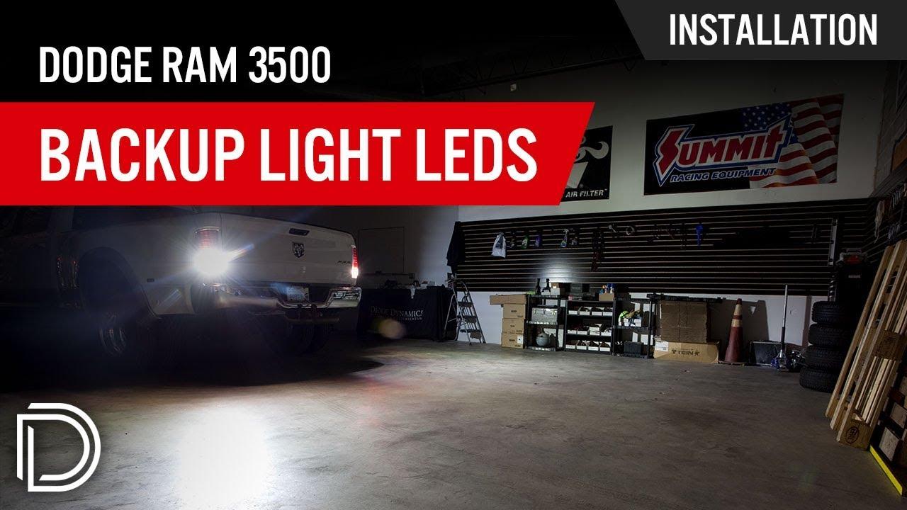 how to install dodge ram 3500 reverse light leds [ 1280 x 720 Pixel ]