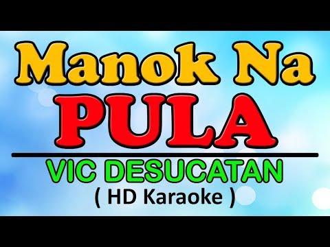 MANOK NA PULA Karaoke  - Vic Desucatan