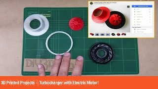 3D Printed Projects  -  Turbocharger with Electric Motor!(, 2016-11-02T00:00:00.000Z)