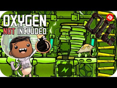 Oxygen Not Included OIL UPGRADE: THE BATTERY PACK!! SEASON 0