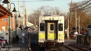 MTA LIRR Trains at Kings Park, NY (Port Jefferson Branch)
