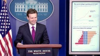 8/20/13: Press Briefing by Deputy Press Secretary Josh Earnest