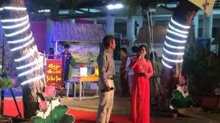Niinh Thuận quê tôi ---- Minh Tiến và Mai Linh trình bày -- Guitar Thiện Đức - Kìm : Bá Phận - Bầu