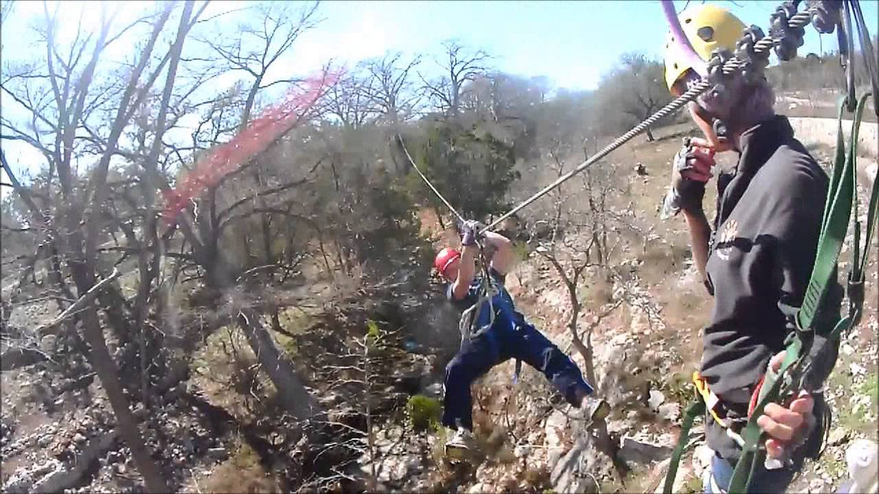 Ziplining at Cypress Valley Canopy Tours & Ziplining at Cypress Valley Canopy Tours - YouTube
