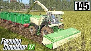 Koszenie jęczmienia na kiszonkę - Farming Simulator 17 (#145)