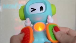 Развивающая игрушка 'Робот весельчак' Sensory Наш обзор