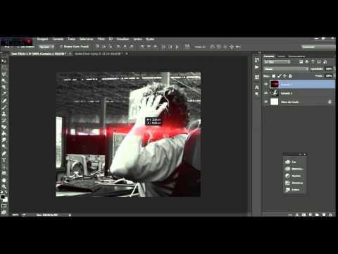 Designer Informal 1 - Luz vermelha do lado da foto  Euller Designer