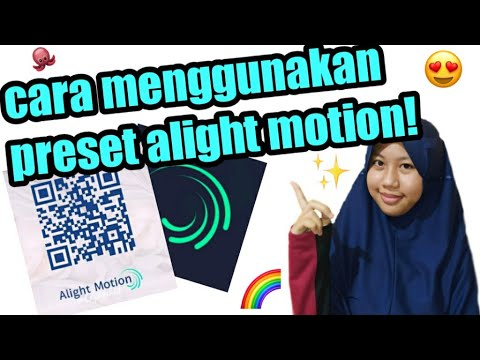 Cara Menggunakan Preset Alight Motion Youtube