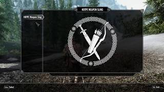 Skyrim XPMSE, DSR, HDT Physics and Equipment/Sling Clipping Bug