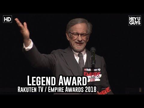 Steven Spielberg Collects the  Legend Award - Empire Awards 2018