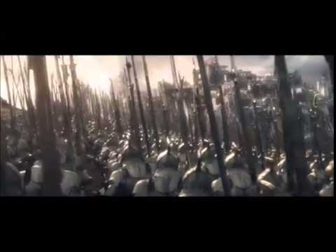 El Hobbit - La Batalla de los Cinco Ejércitos- Escena batalla