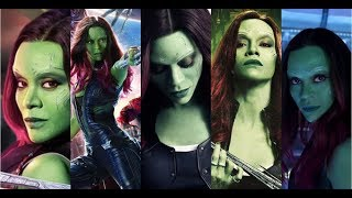 All Gamora Fight Scenes (Guardians of the Galaxy)