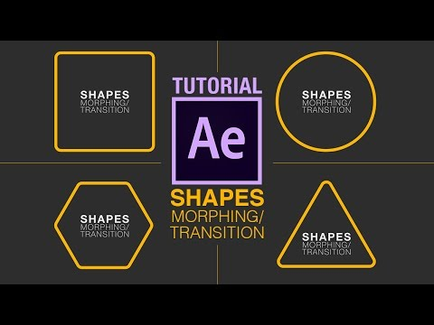 Morphing Shapes - After Effects Tutorial (and a little bit of Illustrator)