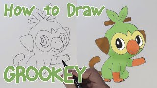 How To Draw Grookey Drawing Pokemon Youtube Check out our grooky selection for the very best in unique or custom, handmade pieces from our shops. how to draw grookey drawing pokemon