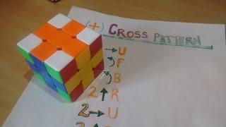 """Learn """"Cross Pattern"""" In Rubik's cube In HINDI/सीखें """"Cross Pattern"""" हिन्दी में।"""