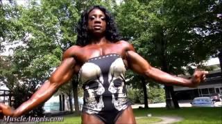 Женщины качки  бодибилдинг женщины Female bodybuilding HOW to lose WEIGHT