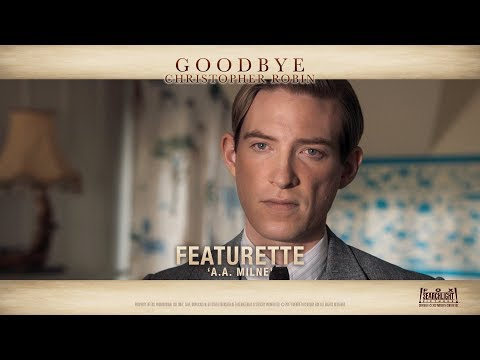 Goodbye Christopher Robin ['A.A Milne' Featurette in HD (1080p)]