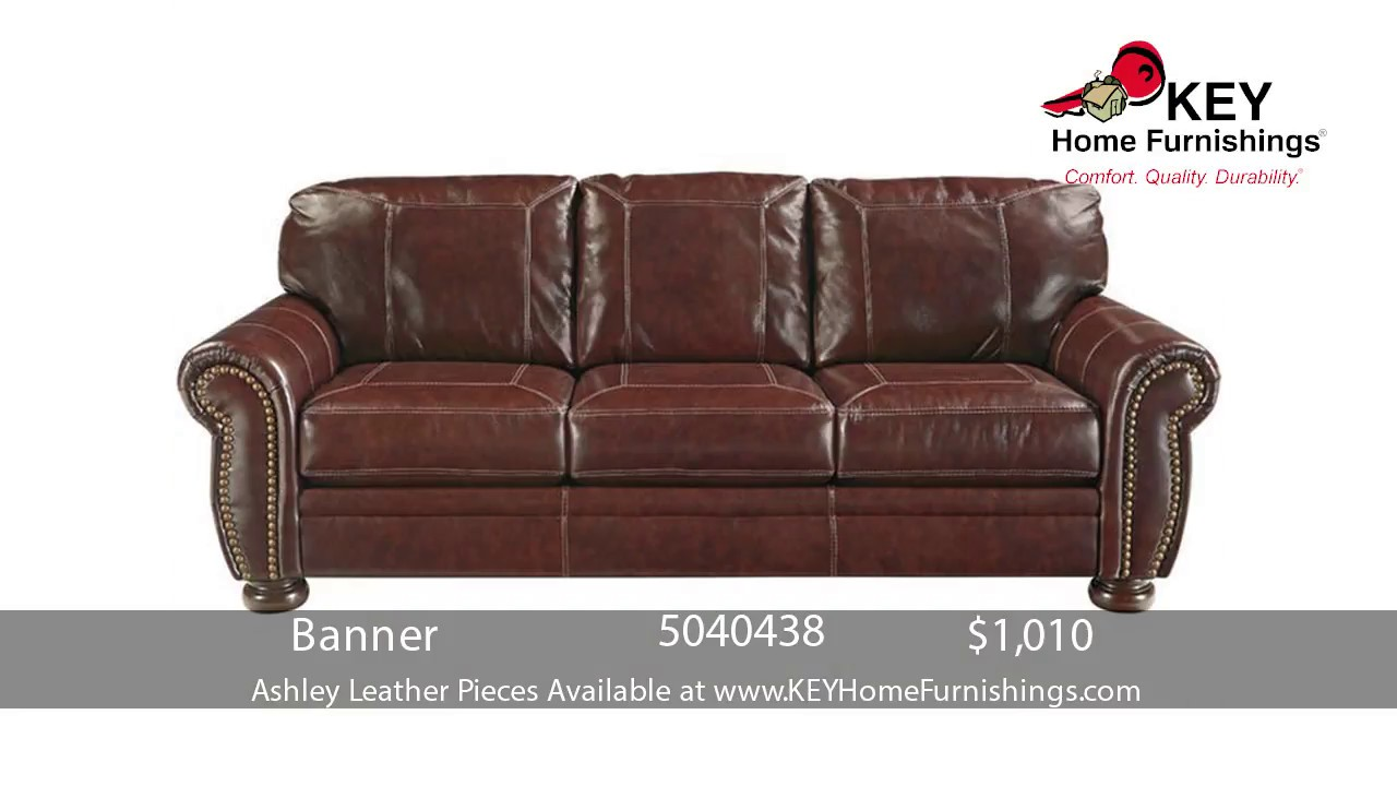Sale Prices for Ashley Leather Sofa | Portland 2017 |