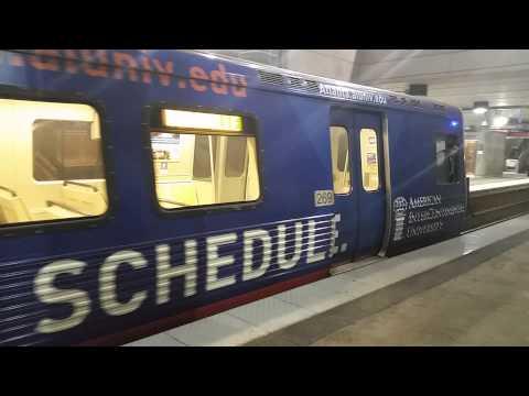 MARTA Train Departing Lindbergh Center