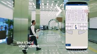 Medrics Şehir Hastaneleri navigasyon uygulaması (Mersin Şehir Hastanesi)