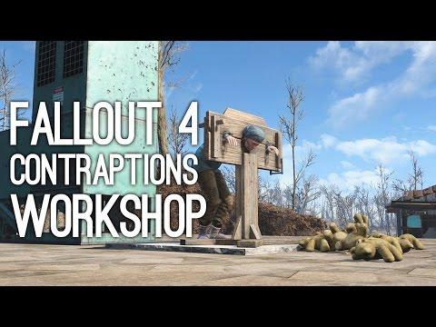 Fallout 4 Contraptions Workshop DLC Trailer - Fallout 4 Contraptions DLC Gameplay Trailer