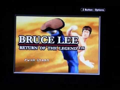 Bruce Lee: Return of the Legend gameplay