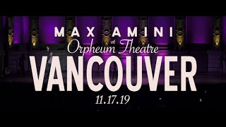 Max Amini - Live in Vancouver - Authentically Absurd Tour 2019 - PROMO