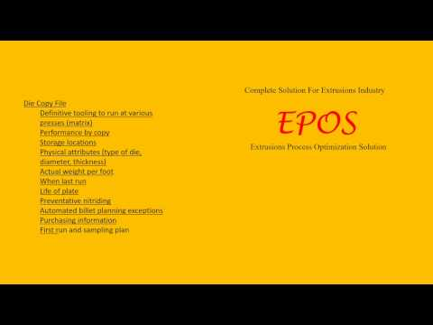 EPOS - PRESS MONITORING SOFTWARE SOLUTION