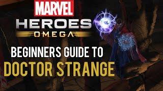 Doctor Strange: Beginners Guide - Marvel Heroes Omega (PC/PS4/XBOX)