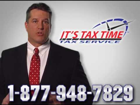 It's Tax Time   Tax Preparation Service