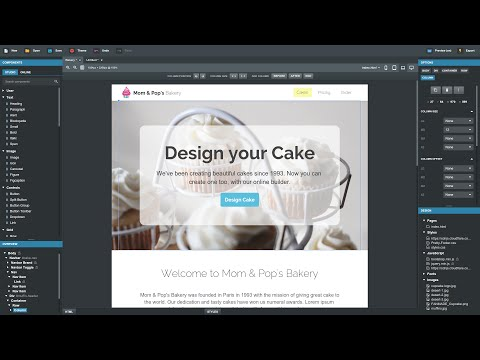 Creating a Website with Bootstrap Studio (Tutorial)