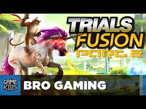 Trials Fusion With Mom And Dad Part 2 - Bro Gaming