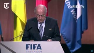 Sepp Blatter calls for unity after corruption scandal rocks Fifa